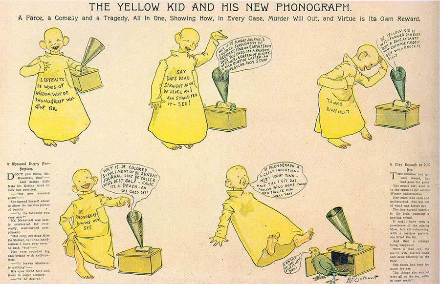 """Походження вислову """"жовта преса"""", фото-1"""